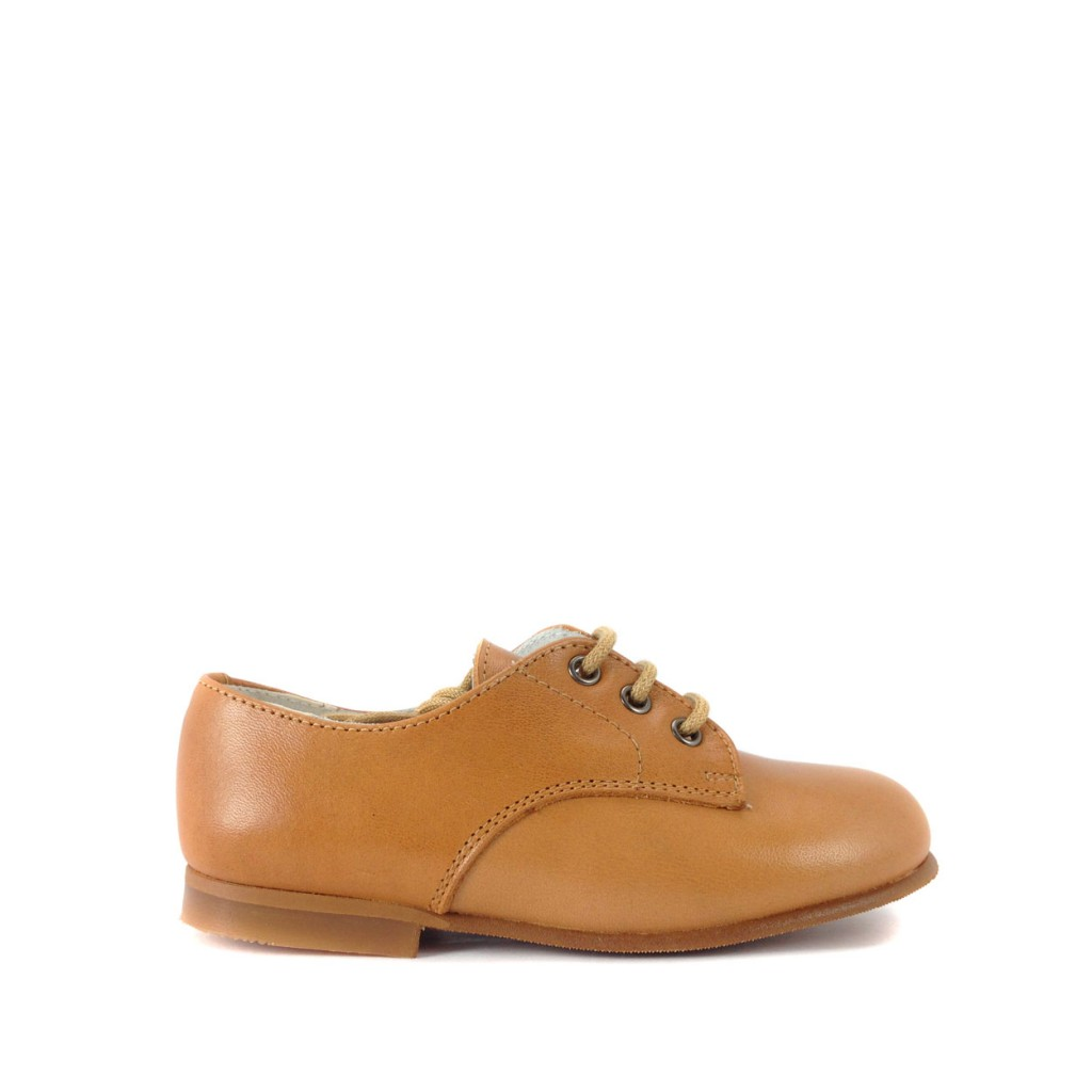 Eli lace-up shoe Lightbrown classic derby