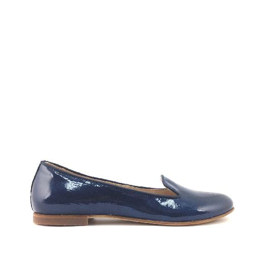 Kinderschoen online Gallucci loafer Loafer in blauwe lizard