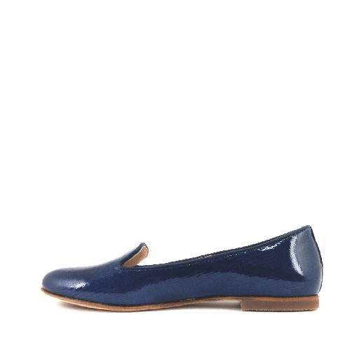 Gallucci loafer Loafer in blauwe lizard