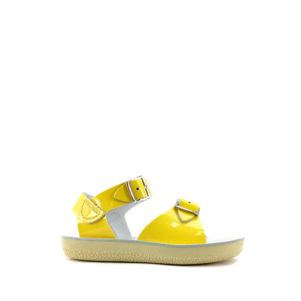 3e8a9eca0c3e Salt water sandal - Surfer Premium sandal in shiny yellow