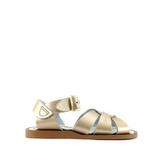 Kinderschoen online Salt water sandal sandaal Originele Salt-Water sandal in goud