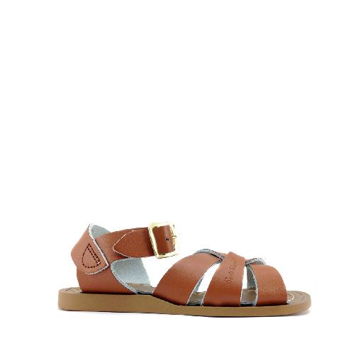 Kinderschoen online Salt water sandal sandaal Originele Salt-Water sandal in cognac