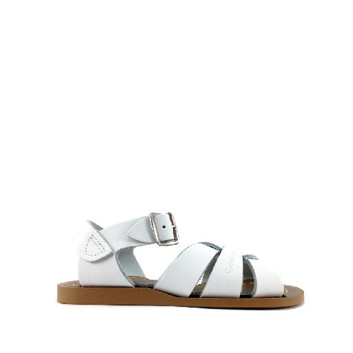Kinderschoen online Salt water sandal sandaal Originele Salt-Water sandal in wit
