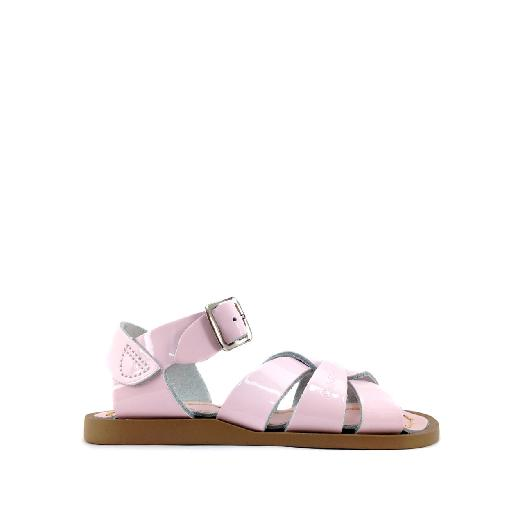a2ecc88a6994 Kids shoe online Salt water sandal sandal Original Salt-Water sandal in  shiny pink