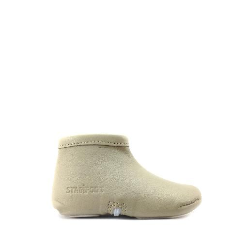 Kids shoe online Stabifoot slippers Beige pre walker/slipper