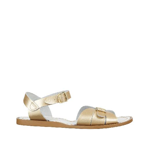 Kinderschoen online Salt water sandal sandaal Salt-Water classic in goud