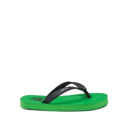 Kinderschoen online Reef teenslipper Sportieve teenslipper in groen
