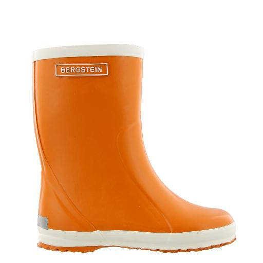 Kids shoe online Bergstein wellington boot Orange wellington boot