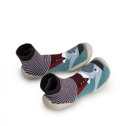 Kids shoe online Collegien slippers Slipper-socks Dandy Elephant