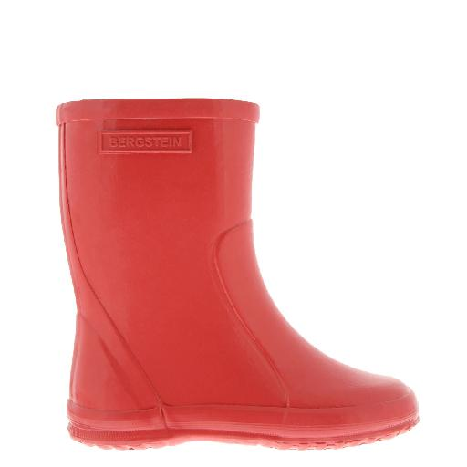 Kids shoe online Bergstein wellington boot Cherry colored wellington boot