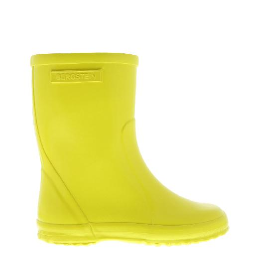 Kids shoe online Bergstein wellington boot Lemon colored wellington boot