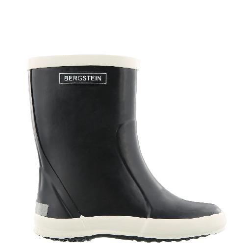 Kids shoe online Bergstein wellington boot Black wellington boot