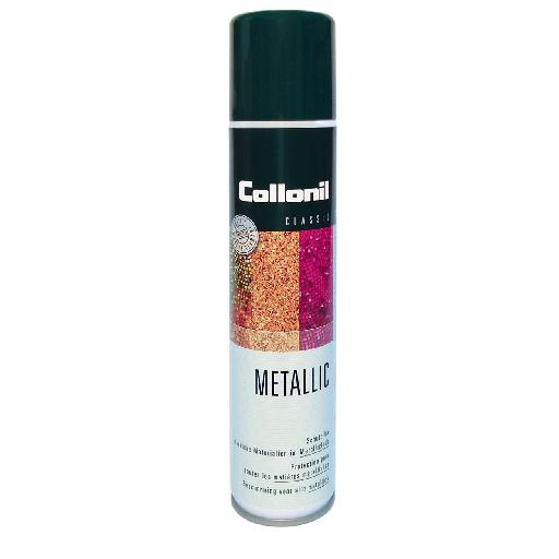 Kinderschoen online Collonil schoenverzorging Metallic spray voor metallic leder