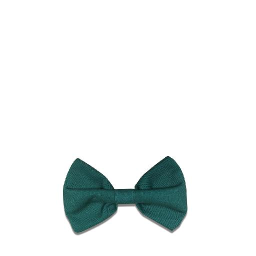 Kids shoe online Suussies bow Bow tie in jade green