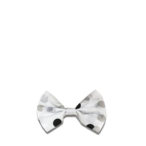 Kids shoe online Suussies bow Bow tie in white with dots