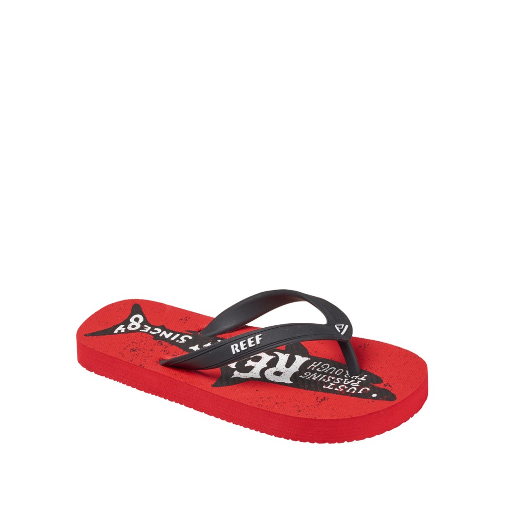 Reef - Red flip flops with sharks