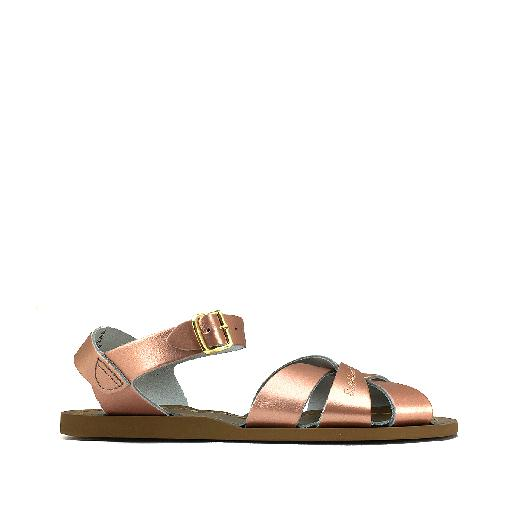 Kinderschoen online Salt water sandal sandaal Salt-Water Premium in rose goud