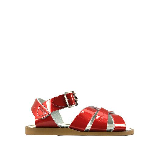 Kids shoe online Salt water sandal sandal Salt-Water Premium in candy red (patent)