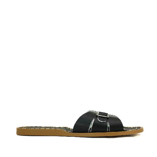 Kinderschoen online Salt water sandal sandaal Salt-Water Classic Slides in zwart