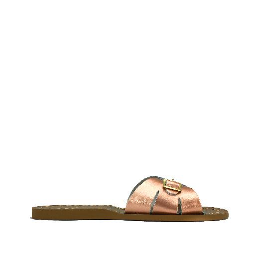Kinderschoen online Salt water sandal sandaal Salt-Water Classic Premium Slides in rose goud