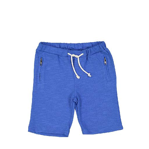 Kids shoe online Louis Louise shorts Blue shorts in sweatshirt fabric