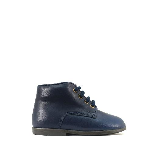 Kids shoe online Two Con Me by Pepe first walker Simple first walker in darkblue