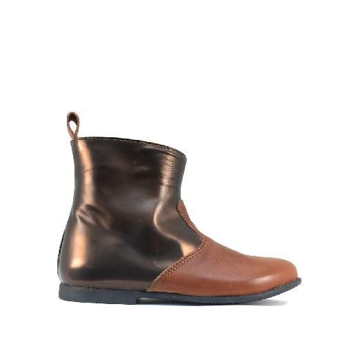 Kids shoe online JFF short boots Short boot in shades of brown