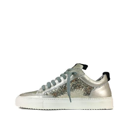 P448 trainer Low platinum silver sneaker