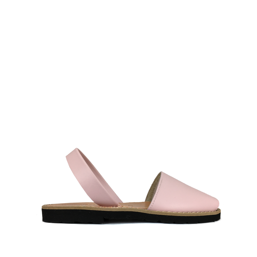 Minorquines - Sandal in powder pink
