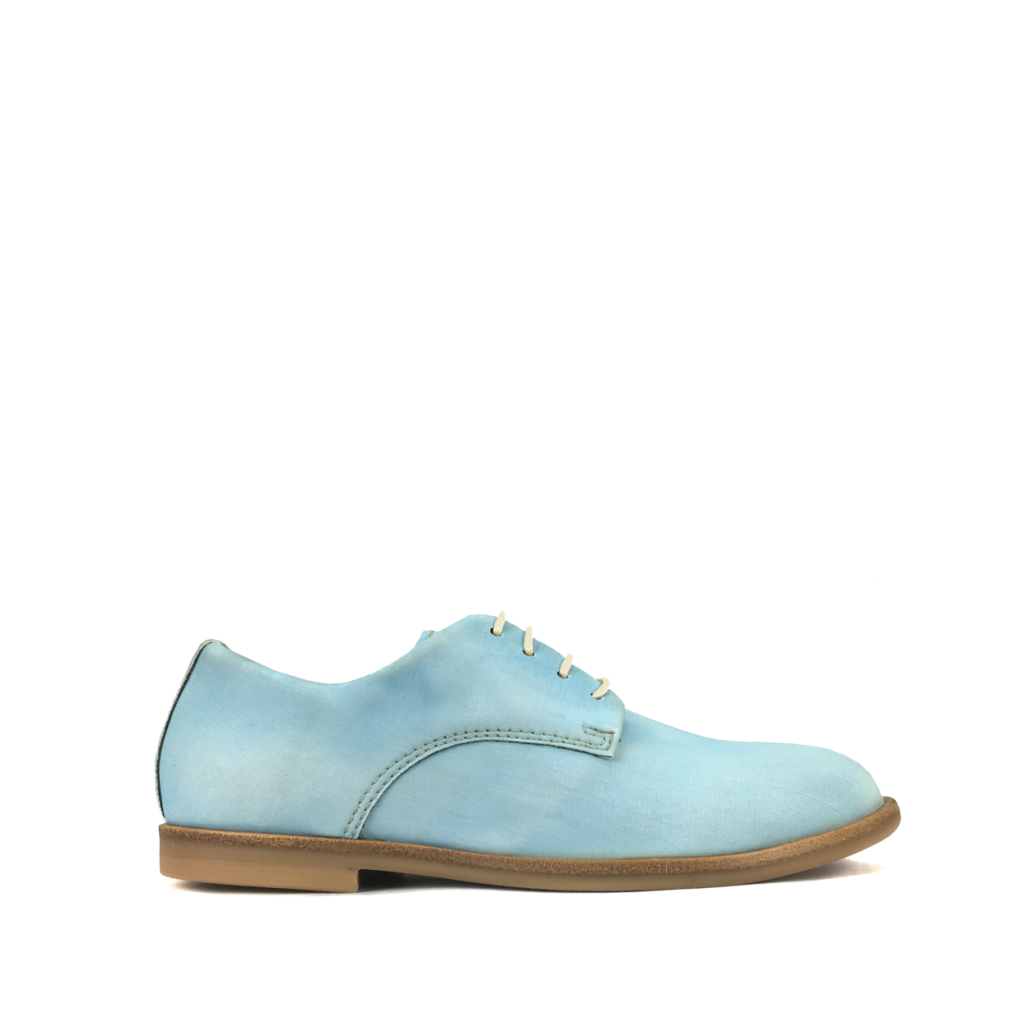 Ocra by Pops - Derby in reflective soft blue