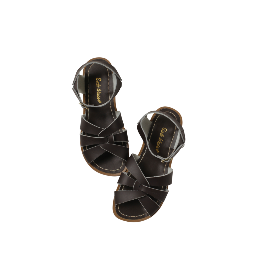 Kinderschoen online Salt water sandal sandaal Originele Salt-Water sandal in bruin