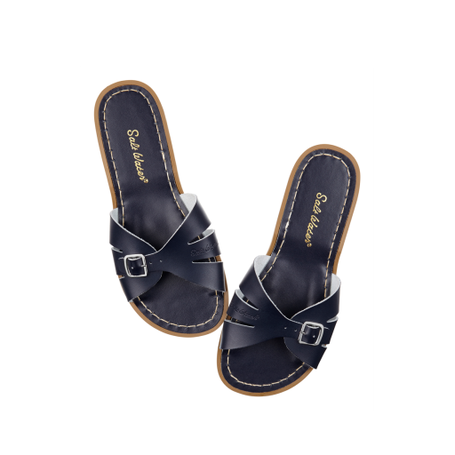 Kinderschoen online Salt water sandal sandaal Salt-Water Classic Slides in blauw