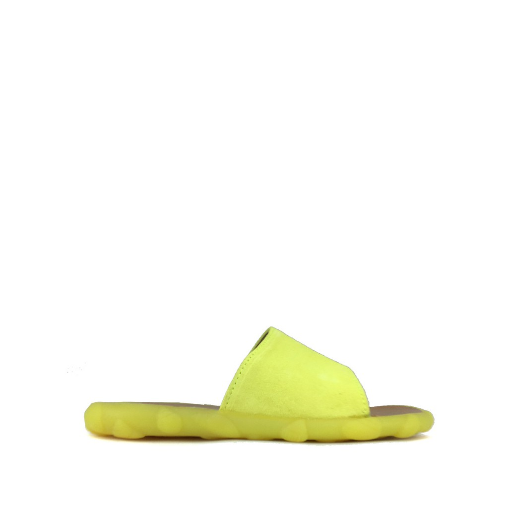 Pom d'api - Slipper in fluo yellow