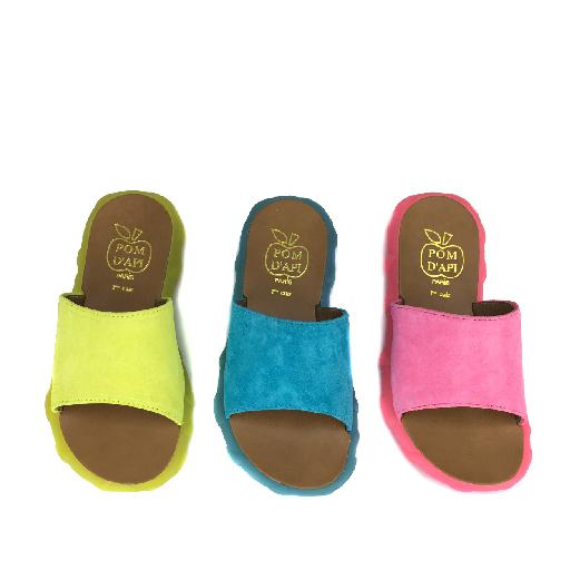 Pom d'api sandals Slipper in fluo yellow