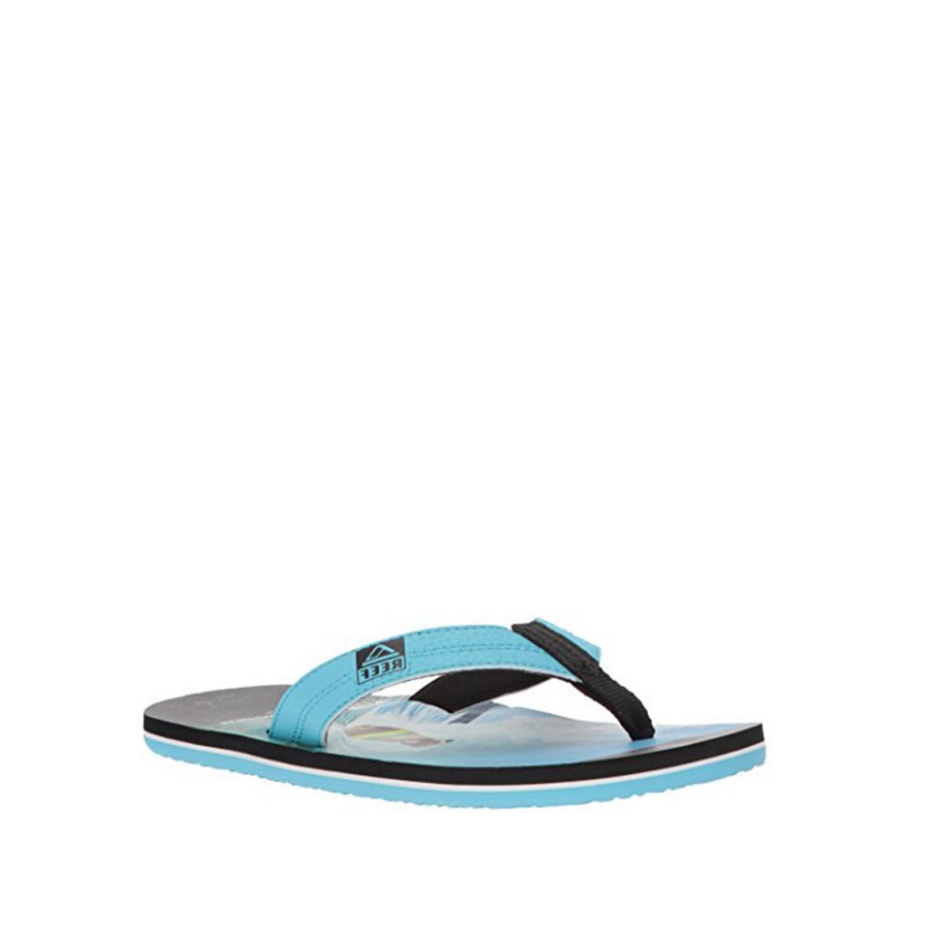 2a2aadd1c95 Reef - Flip flops with surfing pug print