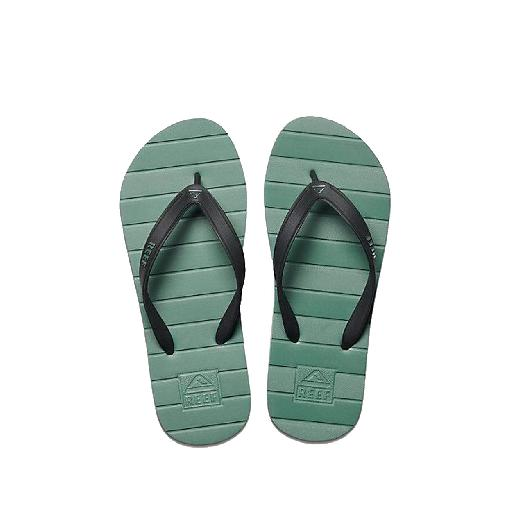 Reef teenslipper Teenslippers in het varen groen