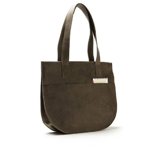 Kids shoe online Keecie bags Dream Team grey brown bag