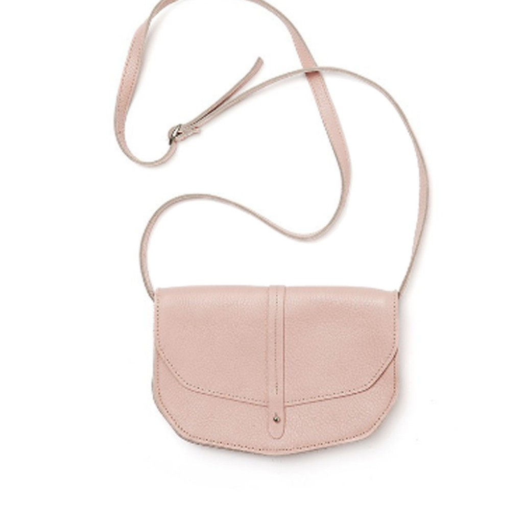 Keecie - Move mountains soft pink bag