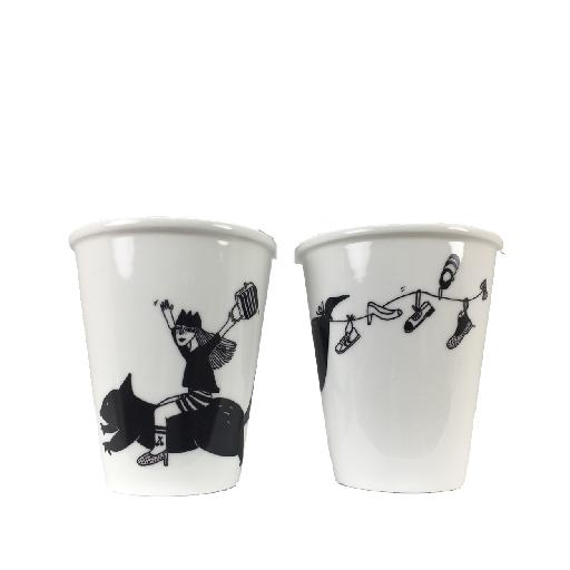 Helen b deco Cup in porcelain Anna Pops