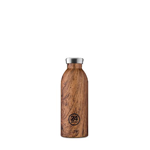 Kids shoe online 24bottles drinking bottles Thermo bottle Clima brown Wood Collection