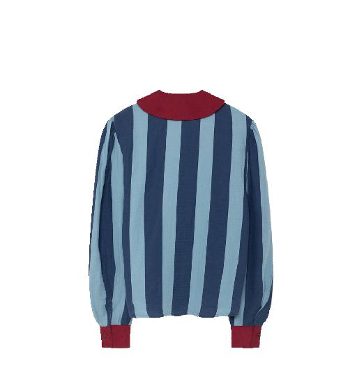 The Animals Observatory blouses Beautiful blue striped blouse