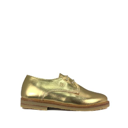 Nathalie Verlinden lace-up shoe Beautiful golden derby