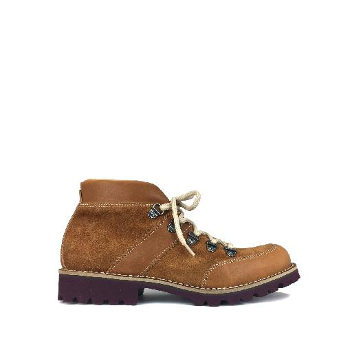 Kids shoe online Gallucci boot Strong brown boot