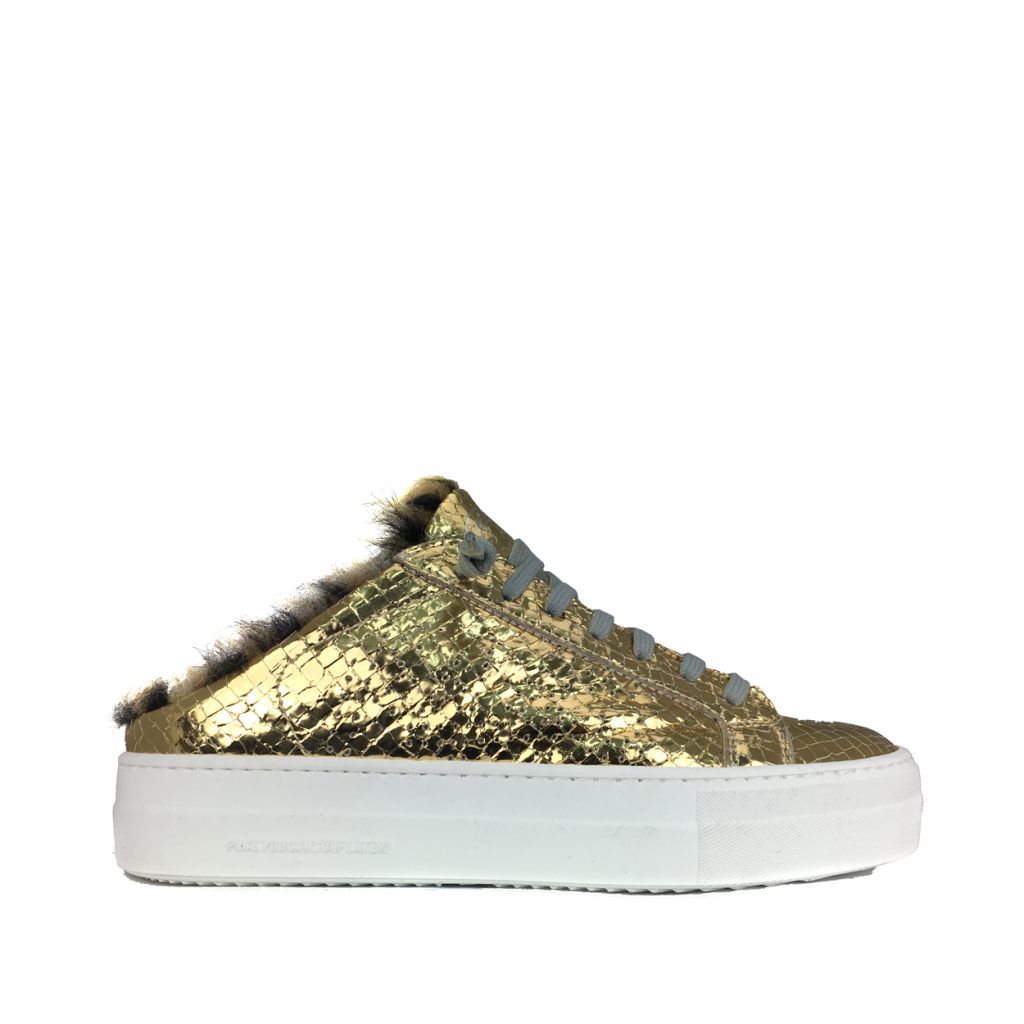 P448 - Gold lined insert sneaker