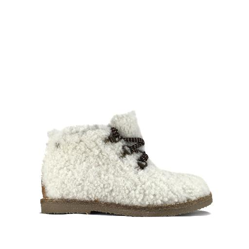 Kids shoe online Manuela de juan boot Woolly lace boot