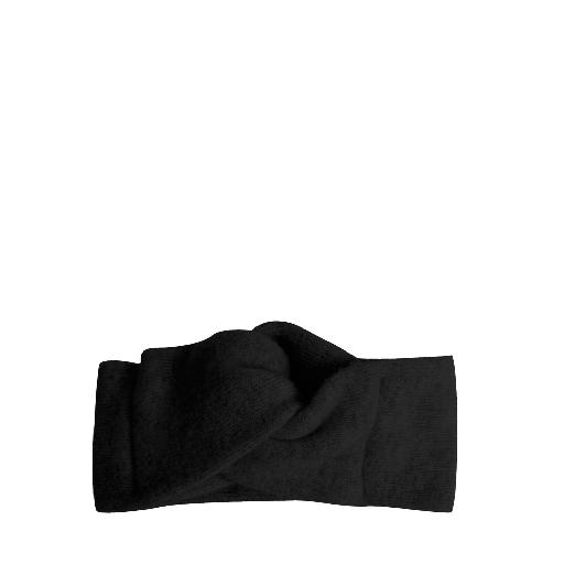 Kids shoe online Collegien headband Woollen hairband Noir child size