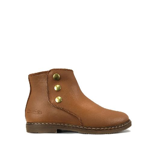 Pom d'api short boots Short brown boot with studs