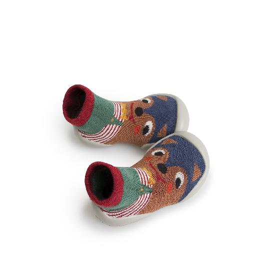 Kids shoe online Collegien slippers Slipper-socks le loup