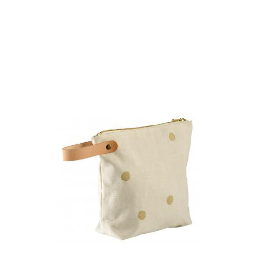 Kids shoe online Anna Pops deco Toilet bag Odette gold dots