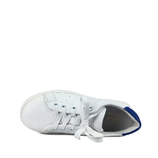 BiKey trainer White sneaker with blue details